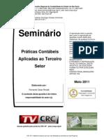 Praticas Contabeis Aplicadas Terceiro Setor Rinaldi Maio 2011
