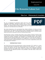 Summary of the Romanian Labour Law January 2010