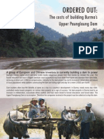 Burma-Upper Paunglaung Dam-The costs of building-report eng