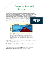 The Quran on Seas and Rivers
