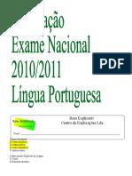 Preparação Exame NAcional