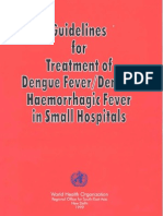 Guidelines for Mx of Dengue in Small Hospitals