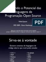 Explorando o Potencial das Linguagens de Programação Open Source