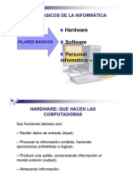 Hardware, Software, Elemento Humano