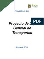 Proyecto de Ley  General de Transportes