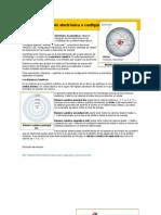 Configuración electrónica o configuración periódica