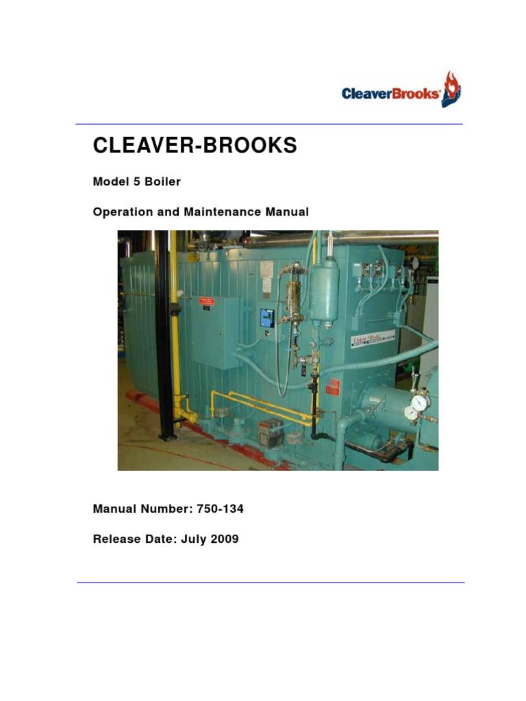 Cleaver Brooks Wiring Schematic Diagrams Diagram Model 5 Operating And Maintenance Manual Boiler Valve American Standard