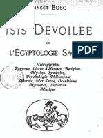 Bosc - Isis dévoilée