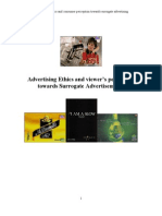 Advertising Ethics and Viewers Perception Towards Surrogate Advertising