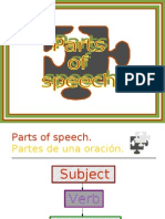 Parts of Speech TE1 2 - Subject