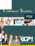 Corporate Training Brochure