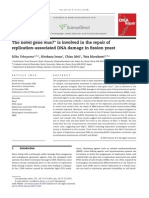 The Novel Gene Mus7+ is Involved in the Repair of Replicaiton-Associated DNA Damage in Fission Yeast