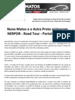 Press Nuno Matos 2011 12 Road Tour re