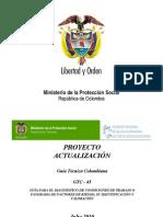 ACTUALIZACIÓN NORMA GTC 45 - COMISIÓN DE TELECOMUNICACIONES