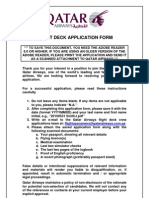 Flight Deck Application Form