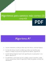 Algoritmos de Nodos