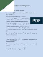 Límite Fundamental Algebraico