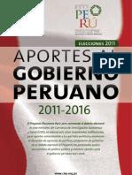 Aportes Para El Gobierno Peruano