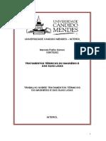 Tratamento Térmico ( Processos de Fabricação )