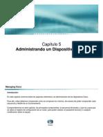 5- Administrando Un Dispositivo Cisco