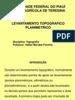 LEVANTAMENTO PLANIMETICO