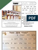 Naso Hebrew