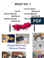 Prepaid Electron Is System
