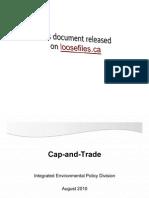 Ontario Cap and Trade Briefing Slides Loosefilesca