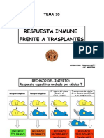 Tema 20_Aloinmunidad_Rechazo de Trasplantes