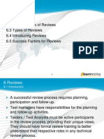 Reviews Test Analyst