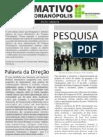 Informativo Maio IF-SC Fpolis