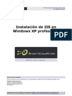 Manual Instalacion Iis Windows Xp Profesional