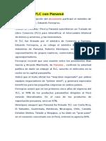 Perú firmó TLC con Panamá