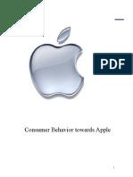 Consumer Behaviour towards Apple