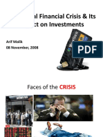 US Financial Crises Impact on Investments