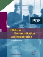 Knechtel, Petra - Effektive Kommunikation Und Kooperation