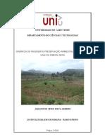 Dinamica de Paisagem e preservação ambiental
