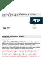 contradição e complexidade na arquitetura 1