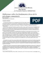 MODELOS DE PSICOLOGÍA COMUNITARIA