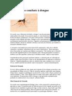 Citronela no combate à dengue