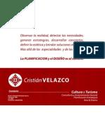 Trayectoria Cristian Velazco