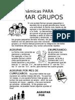 Libro de Dinamicas Para Formar Grupos!!!!