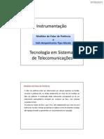 Medidor de FP e Alicate Volt-Amperímetro