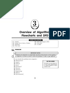 algorithm,flow chart and data flow diagram   Algorithms   Business