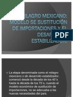 EL MILAGRO MEXICANO