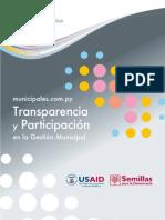 Transparencia y participacion