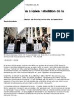 Tribune de Genève - 25 mai 2011
