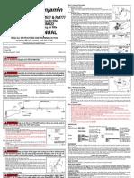Crosman RM377 Air Rifle Manual