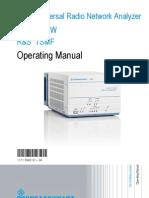 Analizador Wimax TSMW Operating Manual