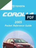 Toyota Corolla Manual e12 a Mea